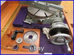 11 Moore Precision Rotary Table in Original Box