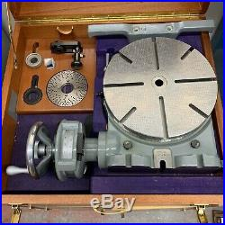 11 Moore Rotary Table Very Rare Metrology Grade