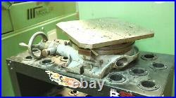 12 HORIZONTAL ROTARY TABLE with sub table Used