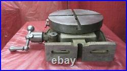 12 Universal Vise & Tool Rotary Table Horizontal & Vertical