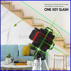 16 Lines 360° Rotary Green Laser Self Leveling Cross Vertical Horizontal Measure