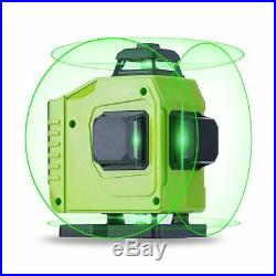 16 Lines Laser Level 3D Self-Leveling Horizontal Vertical Cross 360 Rotary