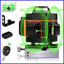 16 Lines Rotary Self Leveling Laser Level Green Line Horizontal Vertical Measure