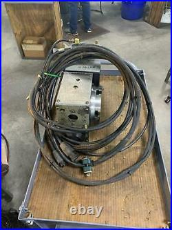 2004 Haas HRT160 4th Axis Programmable CNC Rotary Table Sigma-1 Motor 6 platter