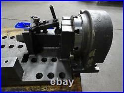 2010 Nikken CNC-250L Rotary Table 4th Axis with TAT-200 Support, Trunnion CNC VMC