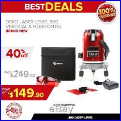 360 Laser Level Vertical & Horizontal Rotary Cross Laser Liner, Brand New, Fast