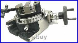 4'' 100mm Rotary Table Milling Indexing & Round Vice/Vise Machine Tools