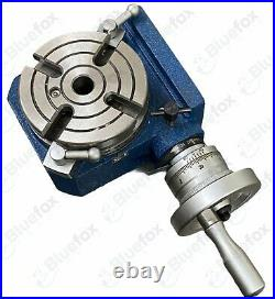 4 110mm Hv4 Horizontal Vertical Rotary Table With Clamping Kit Set