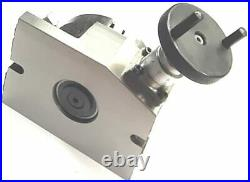 4 Inch (100 mm) 3 Slot Rotary Table(s) for Milling Machines-Cutting & Indexing