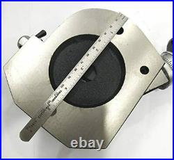 4 Inch/ 100 mm 4slot Tilting Rotary Table MT2 Bore-Milling, Lathe Machine Tool
