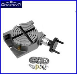 4''Rotary Table Horizontal & Vertical with Dividing Plate Set/Indexing Plate set
