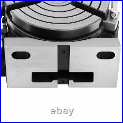6In 150mm 3 Slots for Milling Machine Horizontal Vertical Rotary Tabl