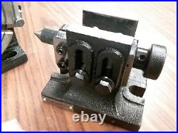 6 HORIZONTAL VERTICAL 3 slot ROTARY TABLE, Dividing plates, tailstock #TSL150-GV