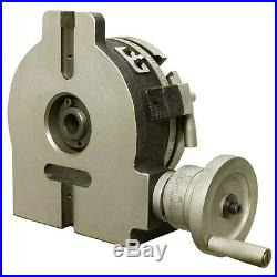 6 Horizontal & Vertical Rotary Table Vernier Reading Milling Drilling