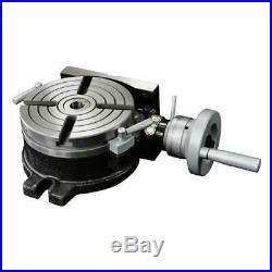 6 Horizontal and Vertical Rotary Machine Table