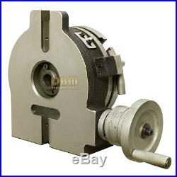 6 INCH HORIZONTAL VERTICAL PRECISION QUALITY ROTARY TABLE Milling Drilling
