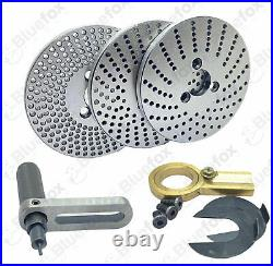 6 Precision Horizontal Vertical Rotary Table & Index plates set, dividing plate