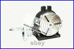 6 Rotary table 3 SLOTS Horizontal & Vertical Precision Quality