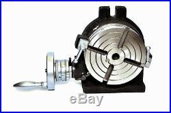 6 Rotary table 4 SLOT Horizontal & Vertical Precision Quality
