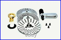 6 Rotary table Horizontal & Vertical (3 Slots) WithDividing/Indexing Plate set