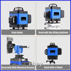 8/12/16 Line 3D Rotary Green Laser Level Self Leveling Horizontal Vertical