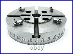 8 INDEXING ROTARY T-SLOTTED TABLE WHEEL 360-Degrees (Clock & Counterclock)