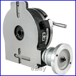 8 Rotary Table Horizontal Vertical 3-Slot for Milling Machine Precision