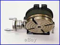 8 Vertical-horizontal Precision Rotary Table, Tsl-200 Tb190
