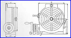 ACER HV-16 16 Horizontal/Vertical Rotary Table