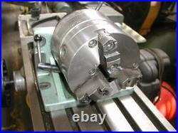BISON HORIZONTAL/VERTICAL SUPER SPACER ROTARY INDEXER 8 3 JAW CHUCK WithTAILSTOCK