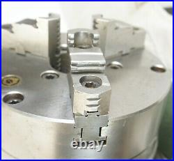 Bison Horizontal/vertical Super Spacer Rotary Indexer 8 3 Jaw Chuck Clean