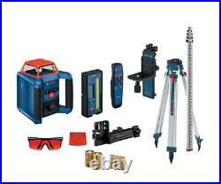 Bosch GRL2000-40HVK 2000ft Horizontal/Vertical Self-Leveling Rotary Laser Kit