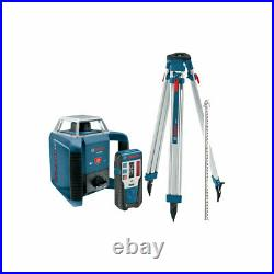 Bosch GRL 400 HCK Horizontal/Vertical Rotary Laser Complete Kit (Open Box)