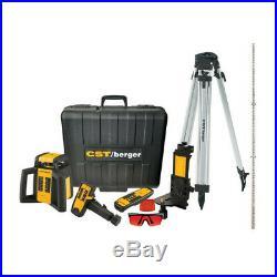Brand New CST/berger RL25HVCK Horizontal & Vertical Rotary Laser Kit