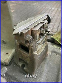 Bridgeport Milling Machine 12 Rotary Table Tailstock H/V Vertical Mount Bracket
