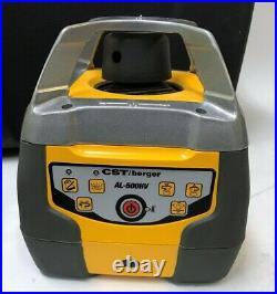 CST Berger AL-500HV Horizontal Vertical Single Slope Rotary Laser LD-90 Kit