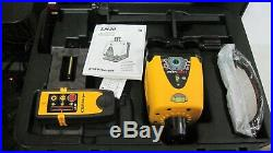 CST/Berger LM30 Manual Horizontal/Vertical Rotary Laser, And stand