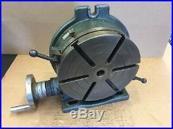 Clean! Yuasa 10 Horizontal / Vertical Precision Rotary Table #550-050