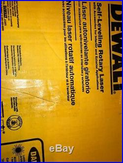 Dewalt DW074KD Rotary Laser Level Kit Detector Self-Leveling Horizontal Vertical