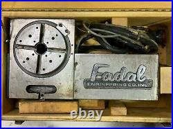 Fadal VH-65 6.5 DC drive rotary table