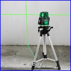 Green Self-Leveling Laser Level 360° Rotary Horizontal Vertical Cross-Line Laser