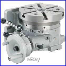 H7506 Grizzly Horizontal/Vertical Rotary Indexing Table with Chuck