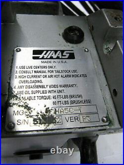 HAAS HA5C-T 5C Horizontal/Vertical Rotary Indexer