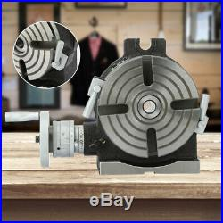 HV6 6 Inch Horizontal & Vertical Rotary Working Table Mill & Drill Machine New
