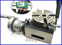 HV 4-110 mm horizontal vertical rotary table for milling machine