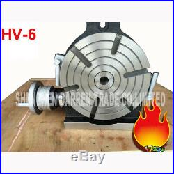 HV-6 Vertical and Horizontal Rotary Working Table/150mm Dia Mill&Drill Machine