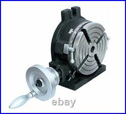 Horizontal Vertical HV6-4 slots Rotary Table 6 (150 mm) for Milling Machine