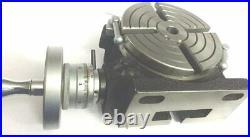 Horizontal Vertical HV6 Rotary Table 6 / 150MM 4 Slot- (USA FULFILLED)