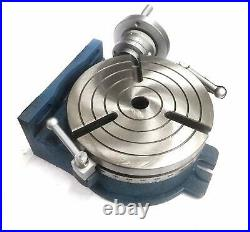 Horizontal Vertical Hv8 Rotary Table (200 MM / 8 Inches) 3mt Center Bore