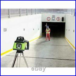 Huepar Electronic Self-Leveling Green Rotary Laser Level Kit Horizontal&Vertical